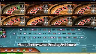 All Slots Casino Multi Wheel European Roulette Gold