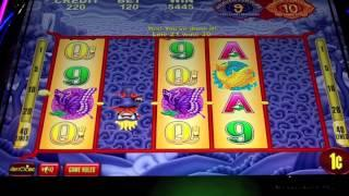 Aristocrat - Heaven and Earth Slot Machine Bonus w/retriggers!