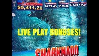 NEW GAME! SHARKNADO SLOT MACHINE-Gimmie Games