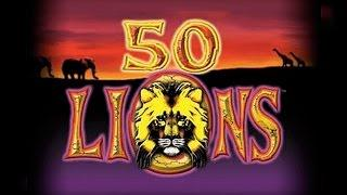 50 Lions HIGH LIMIT SLOTS Bonus Round