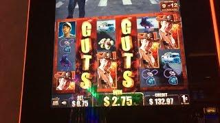 THE WALKING DEAD - Live Play with 2 slot machines - many Features & Bonus Rounds