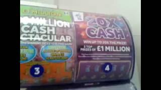 Secretly Filmed..CASHING WINNING Scratchcard..and Buying card for 500+ Subscribers Game??