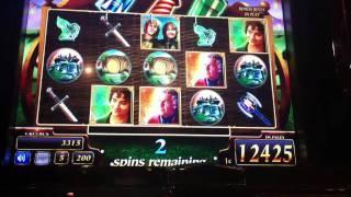 Lord of the Rings - Bonus at Harrahs Casino - Hit 2