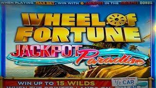 Wheel of Fortune Jackpot Paradise Slot - NICE SESSION!