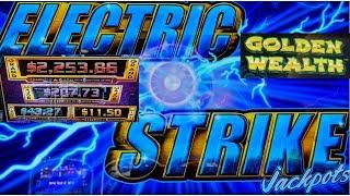 NEW GAME! •ELECTRIC STRIKE JACKPOTS• •MINOR HITS• FREE SPINS W/SlowPokeSlots