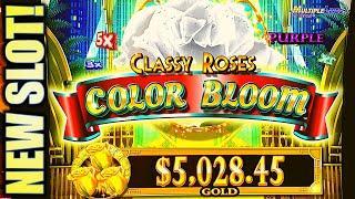•NEW SLOT!• STAR WATCH JUNGLE & CLASSY ROSES COLOR BLOOM • Slot Machine (KONAMI)