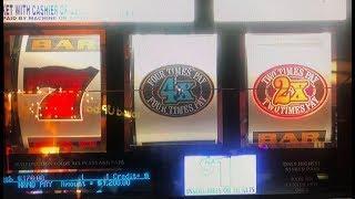 JACKPOT•3X4X5X Dollar Slot Machine Max Bet $ 3 Small Jackpot, San Manuel Casino, Akafujislot