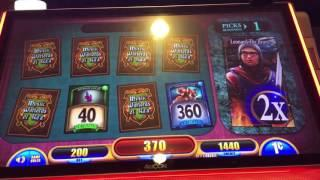 BIG BANG THEORY ~ Slot machine bonus ~ Mystic Warlords of Ka'a