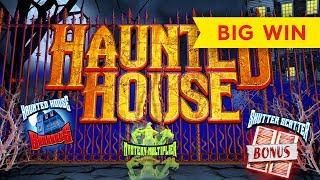 BEST ON YOUTUBE for Haunted House Slot - BIG WIN BONUS!