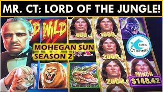MR. CT's BIGGEST TARZAN WIN EVER! YAY MULTIPLIERS! TARZAN SLOT MACHINE BIG WIN!