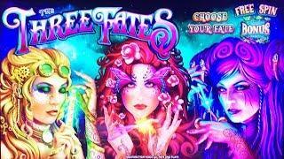 THREE FATES - MAX BET- SHORT AND SWEET - Slot Machine Bonus