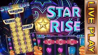STAR RISE || JACKPOTS! ||  LIVE PLAY AND BONUS FROM THE CASINO!