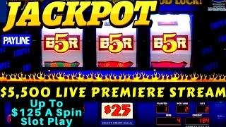 Up To $125 A Spin Slot Play! •For Those That Miss Going To Casino !! This Video Will Help You