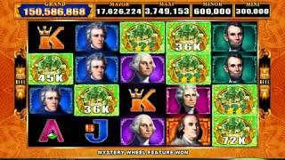 BIG MONEY GOLD Video Slot Casino Game with a MIGHTY CASH BONUS