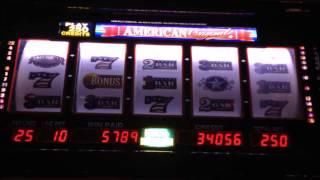 The ORIGINAL American Original - Bally Slot Machine Bonus - Nice Win!!