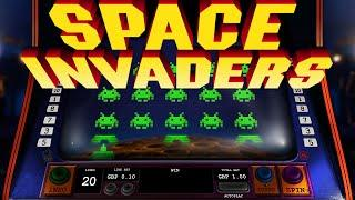 Space Invaders Online Slot from Playtech •