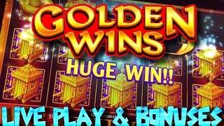 LIVE PLAY on AGS 89 Fortunes/ Golden Wins Slot Machine