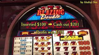 Barona Casino Part 1/3•Triple Double Diamond Slot, BLAZING 7s Double Slot & BLAZING 7s Slot, Max Bet