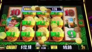 WILD LEPRECOINS ~ Lots of Slot Machine Pokie Bonuses with some Nice Wins!