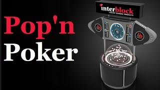 Pop'n Poker Game from Interblock