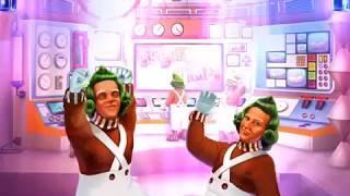 """WILLY WONKA: CANDY CONTROL CENTER Video Slot Game with a""""BIG WIN"""" FREE SPIN BONUS"""