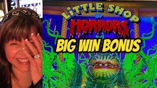 BIG WIN BONUS! NEW GAME-LITTLE SHOP OF HORRORS