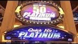 Quick Hit Slot Machine Bonus-Platinum-Dollar Denomination- 2 Bonuses