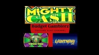 MIGHTY CASH BIG MONEY ~ Free Spins Bonus ~ Bonus-Ception ~ Live Slot Play @ San Manuel