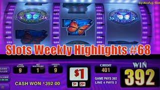 Slots Weekly Highlights #68 For you who are busy• Triple Double Butterfly - 9 Lines @ San Manuel
