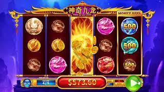 Shen Qi Jiu Long slot - 880 win!