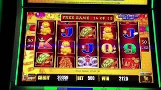 Slot Machine BONUS WIN Happy Lantern Lightning Link $100.00 LIVE PLAY WIN Las Vegas Gambling