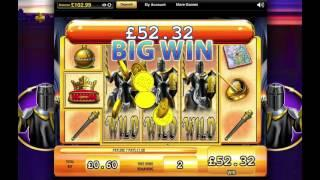 Black Knight Slot Super Big Win - WMS
