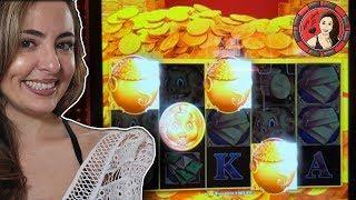 Rare 4 Symbol Bonus on Rakin' Bacon Slot Machine In Las Vegas
