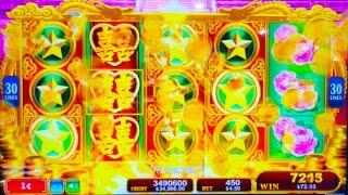 ++NEW Dragon's Law Twin Fever slot machine, G2E 2015, Konami