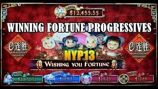 WMS: Winning Fortune Progressive - Wishing You Good Fortune Slot Bonus