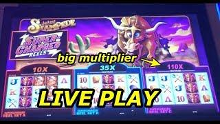 Jackpot Stampede: Live Play and Bonuses + Piggy Bankin slot win