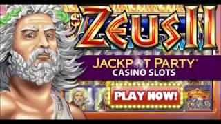 Zeus II   Jackpot Party Casino Slots