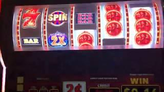 First Attempt - Liberty Link Slot Machine Bonus & Wheel Spins