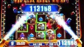 JACKPOT!!  Great Eagle Returns HAND PAY (On A $1.50 Bet!!)