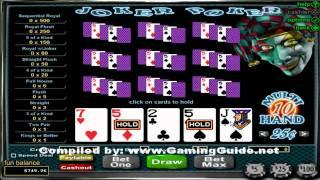 Joker Poker 10 Hand Video Poker
