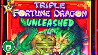 •️ New - Triple Fortune Dragon Unleashed WA VLT slot machine, bonus
