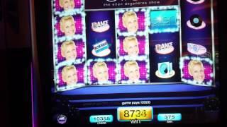 Ellen Slot:  HUGE WIN DANCE PARTY BONUS