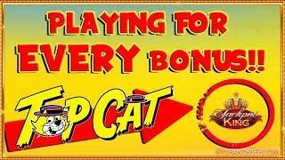 • Online Top Cat Challenge & TOP LEVEL JACKPOT KING!!