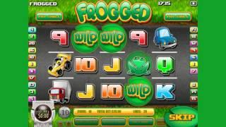 Frogged Online Slot from Rival Gaming - Free Spins, River Rapids Round Feature!