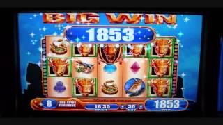 Buffalo Spirit Over 100X Slot Bonus Round Win - Rampart Casino Las Vegas