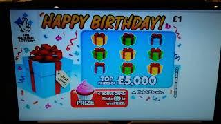 It's Tuesday Scratchcard game..and see the NEW Cards coming out..Wow!