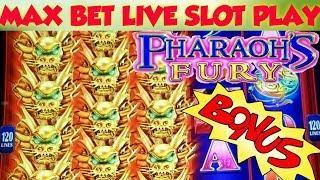 Bonus After Bonus   Pharaohs Fury Max Bet Bonus   Great Session   Live Slots Play --⟩ Deja Vu Slots