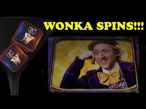 ★ WILLY WONKA SPINS ★ NICE WIN!!