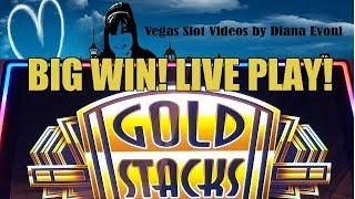 BIG WIN! GOLD STACKS GOLDEN PROSPERITY SLOT BONUSES