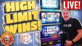 HIGH LIMIT • Mega Jackpot Live Play! HUGE WIN$ | The Big Jackpot